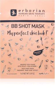 Erborian BB Shot Mask máscara em folha com efeito iluminador