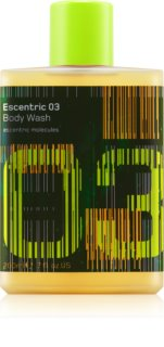 Escentric Molecules Escentric 03 gel de douche mixte