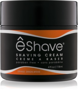 eShave Orange Sandalwood creme de barbear
