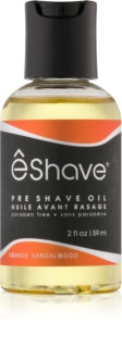 eShave Orange Sandalwood ulei înainte de ras
