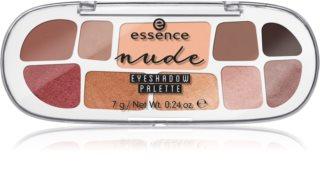 Essence Nude παλέτα με σκιές ματιών