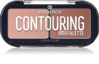 Essence Contouring Duo Palette Patela pentru conturul fetei