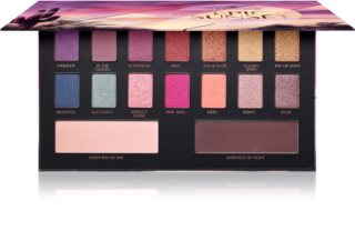 Essence Epic Sunset paleta očních stínů