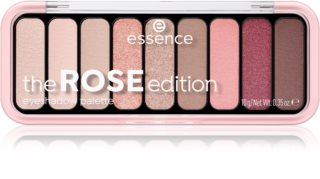 Essence The Rose Edition paleta senčil za oči