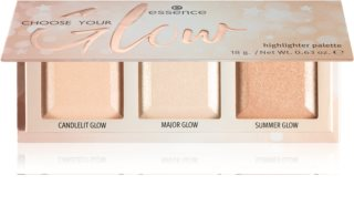 Essence Choose Your Glow palette di illuminanti