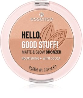 Essence Hello, Good Stuff! Matte & Glow poudre bronzante