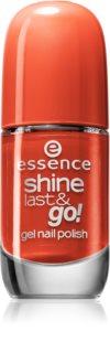Essence Shine Last & Go! gelový lak na nehty