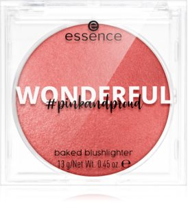 Essence Pink and Proud Wonderful púderes arcpír