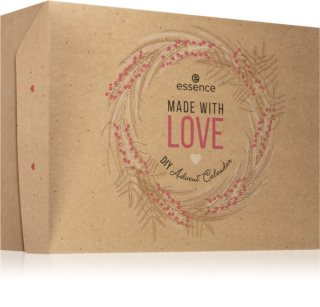 Essence Made With Love DIY calendario dell'Avvento (per un look perfetto)