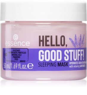 Essence Hello, Good Stuff! masque de nuit hydratant