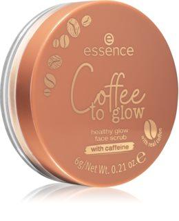 Essence Coffee to glow scrub viso emolliente