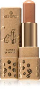 Essence Coffee to glow scrub labbra