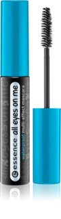 Essence All Eyes on Me mascara waterproof allungante, incurvante e volumizzante