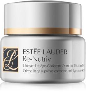 Estée Lauder Re-Nutriv Ultimate Lift liftingový krém na krk a dekolt