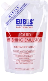 Eubos Basic Skin Care Red émulsion lavante recharge