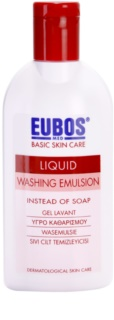 Eubos Basic Skin Care Red очищуюча емульсія без парабену