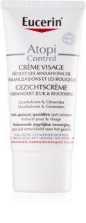 Eucerin Dry Skin Dry Skin Omega крем за лице  за суха към атопична кожа
