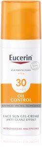 Eucerin Sun Oil Control crema-gel cu efect de protectie a fetei SPF 30
