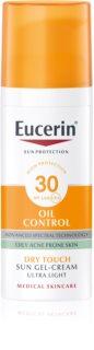 Eucerin Sun Oil Control védő géles krém az arcra SPF 30