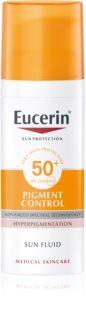 Eucerin Sun Pigment Control защитная сыворотка против гиперпигментации кожи SPF 50+