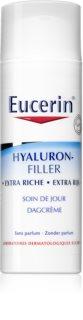Eucerin Hyaluron-Filler creme de dia antirrugas para pele seca a muito seca