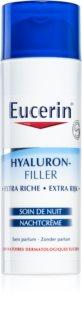 Eucerin Hyaluron-Filler creme de noite antirrugas para pele seca a muito seca