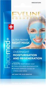 Eveline Cosmetics FaceMed+ Maske für die Nacht mit regenerierender Wirkung