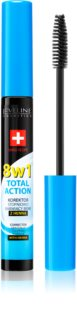 Eveline Cosmetics Total Action коректор для брів з хною 8 в 1