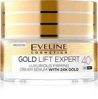 Eveline Cosmetics Gold Lift Expert луксозен стягащ крем с 24 каратово злато
