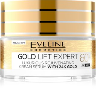 Eveline Cosmetics Gold Lift Expert denný a nočný krém 60+ s omladzujúcim účinkom