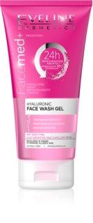 Eveline Cosmetics FaceMed+ čistiaci gél 3 v 1 s kyselinou hyalurónovou