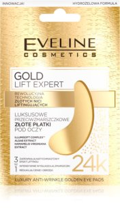 Eveline Cosmetics Gold Lift Expert De-Puffing Anti Dark Circles Eye Mask