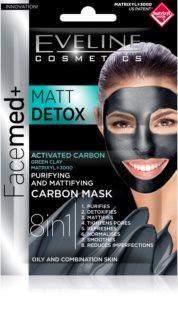 Eveline Cosmetics FaceMed+ maska za obraz za mastno in mešano kožo