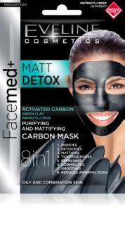 Eveline Cosmetics FaceMed+ μάσκα προσώπου για μικτή και λιπαρή επιδερμίδα