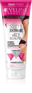 Eveline Cosmetics Slim Extreme 4D Scalpel Super Concentrated Night Serum with Warming Effect