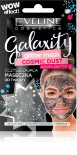 Eveline Cosmetics Galaxity Glitter Mask masque purifiant à paillettes