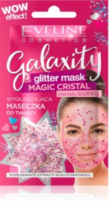 Eveline Cosmetics Galaxity Glitter Mask masque gel à paillettes