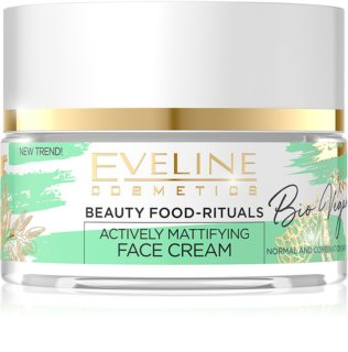Eveline Cosmetics Bio Vegan Crema de zi si noapte cu efect de matifiere si uniformizarea pielii
