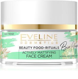 Eveline Cosmetics Bio Vegan creme de dia e noite matificante e normal