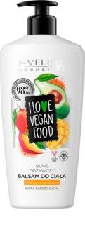 Eveline Cosmetics I Love Vegan Food maitinamasis kūno balzamas
