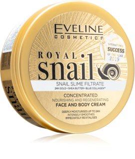 Eveline Cosmetics Royal Snail intensief voedende crème voor Gezicht en Lichaam