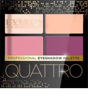 Eveline Cosmetics Quattro paletka očních stínů