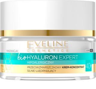 Eveline Cosmetics Bio Hyaluron Opstrammende creme med anti-rynkeeffekt