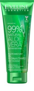 Eveline Cosmetics Aloe Vera gel hydratant visage et corps