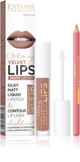 Eveline Cosmetics OH! my LIPS Velvet Lippenset