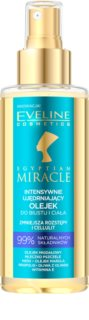 Eveline Cosmetics Egyptian Miracle aceite reafirmante para cuerpo y busto