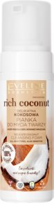 Eveline Cosmetics Rich Coconut Milt rengörande skum  med probiotika