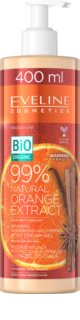 Eveline Cosmetics Bio Organic Natural Orange Extract crème nourrissante et raffermissante corps avec effet réchauffant