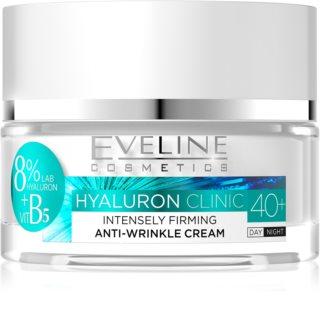 Eveline Cosmetics Hyaluron Clinic crema riorno e notte rassodante intensa 40+