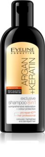 Eveline Cosmetics Argan + Keratin șampon 8 in 1